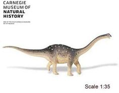Saltasaurus Dinosaur Model - Carnegie Collection