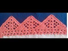 Filet Crochet, Crochet Borders, Crochet Stitches Patterns, Crochet Squares, Crochet Designs, Crochet Lace, Stitch Patterns, Crochet Elephant, Crochet Projects