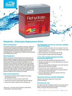 Advocare Rehydrate www.advocare.com/131033815 Fuel your system before or after a run!