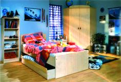 Nelli Cherry room for children / Nelli cseresznye gyerekszoba
