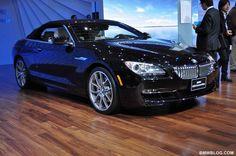 black bmw drop top 2012 | Video: 2012 BMW 6 Series Convertible in Black Sapphire