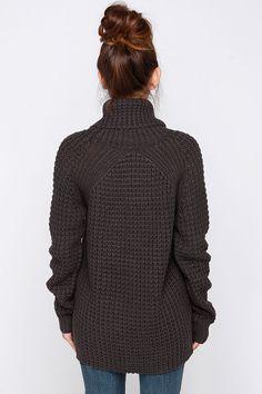 Parker Bridge Grey Sweater at Lulus.com!