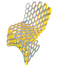 Honeycomb Chair (concept), 2006 by BFR Lab