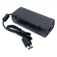 Official Microsoft Xbox 360 SLIM Power Supply AC Adapter  (Bulk Packaging) - http://www.rekomande.com/official-microsoft-xbox-360-slim-power-supply-ac-adapter-bulk-packaging/