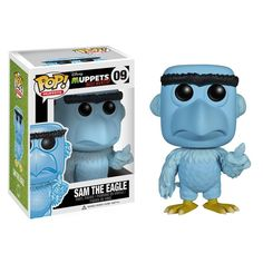 The Muppets: Most Wanted Pop! Vinyl Figure Sam The Eagle - Funko Pop! Vinyl - Category