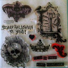 Close To My Heart Acrylic Stamp set - D1442 Thriller - Retired ~ CTMH #bestofEtsy #svgfile