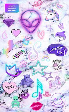 Unicornios Wallpaper, Iphone Wallpaper Glitter, Disney Phone Wallpaper, Iphone Background Wallpaper, Galaxy Wallpaper, Unicorn Wallpaper Cute, Cute Emoji Wallpaper, Rainbow Wallpaper, Cute Cartoon Wallpapers