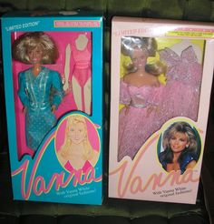 LIMITED EDITION VANNA WHITE DOLLS NRFB FROM HOME SHOPPING CLUB #HomeShoppingClub #DollwithClothingAccessories