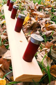 This would be a great DIY project!  Shotgun shell coat rack!  #DIY #shotguns #ammo  Found on garagejournal.com