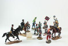 Toy Soldiers  Metal Soldiers  Die Cast by OliviaStuardTreasure, $148.50