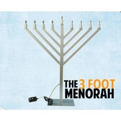 3 Feet Electric Display Menorah