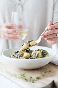 Jillian Harris | Mushroom and Kale Gnocchi Recipe
