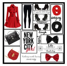 """New York City Girl"" by selena-gomezlover ❤ liked on Polyvore featuring NIKE, Balenciaga, Chloé, Nly Shoes, Breckelle's, Coach, Torrid and Universal Lighting and Decor"