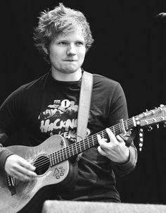 ed sheeran black and white   Tumblr
