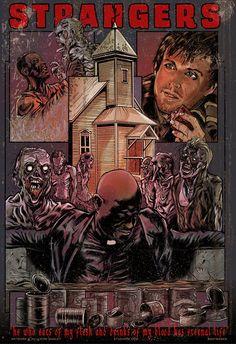 Strangers - The Walking Dead - episode poster - Kirk Manley