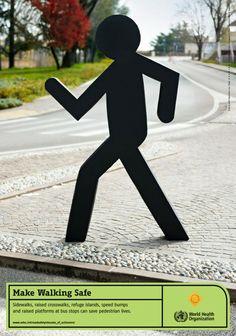 The First Global Pedestrian Safety Campaign: Make Walking Safe #roadsafety #walksafe
