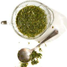 Mint Sauce - INGREDIENTS 2� cups mint leaves, finely chopped 1 tbsp. sugar � tsp. kosher salt 1 cup white vinegar