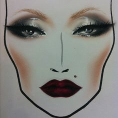 {face chart}
