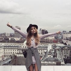 Instagram @classisinternal // Sonya Esman wearing Boohoo in London.