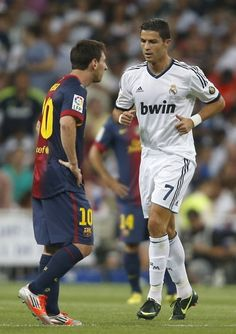 Cristiano Ronaldo & Lionel Messi - ready for a wonder?  ~ #Soccer #Football