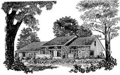 Eplans Shed House Plan - Balcony-Lounge above the Gathering Room - 2957 Square Feet and 4 Bedrooms from Eplans - House Plan Code HWEPL00556