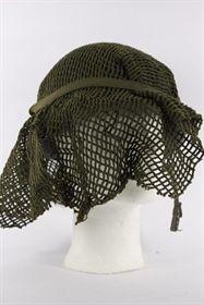 bomulds hjelmnet fra militæret - brugt