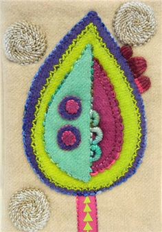 Episode 1611-1: Sue Spargo-Instructions for Wool Appliqué Needle Case - Quilting Daily