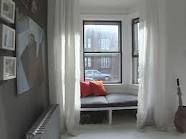 I would love to crawl in and close the curtain
