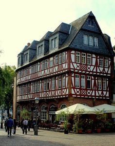Frankfurt, Germany The city in which  was born!