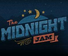 The Midnight Jam- Vintage Logo