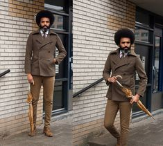 Get this look: http://lb.nu/look/6726244 More looks by Dualleh Abdulrahman: http://lb.nu/dualleh Items in this look: No Brand Vintage Double Breasted, Removable Collar Diy, Verlo Coulo Brown Suede Schoes #vintage #doityourself #dapper #autumn #lookbookmen #menstyle #mensfahion #thrift