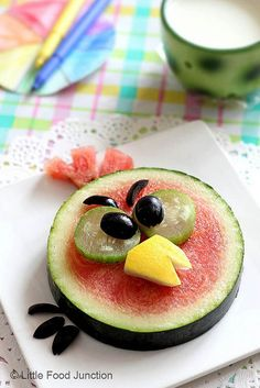 Angry Birds Watermelon    #kids #meals