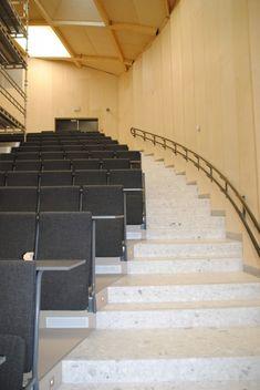 Vi har levert og utført: Terrazzofliser (HT Calacatta) på gulv i fellesarealer og elementer i trapper.  Omfang: 500m2.  Tidsperiode: 2013. Trondheim, Terrazzo, Stairs, Home Decor, Stairway, Decoration Home, Room Decor, Staircases, Home Interior Design