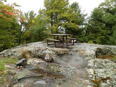 Six Mile Lake Provincial Park Ontario Canada - Autumn Ontario Camping, Outdoor Furniture, Outdoor Decor, Painting Inspiration, Canada, Patio, Autumn, Home Decor, Homemade Home Decor