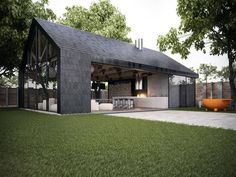 #contemporary #barn  #architecture
