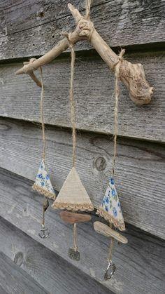 Sailboat Driftwood Hanger