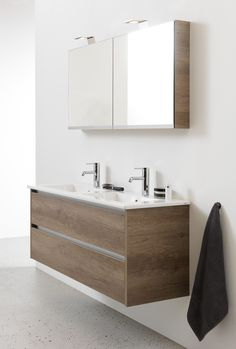 bruynzeel module badmeubelset met spiegelkast - 225798k | badkamer ... - Weie Badmbel