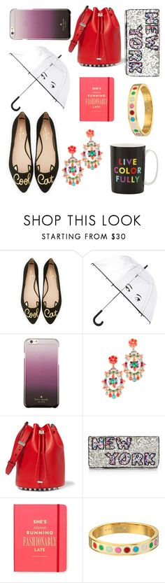 """High Fashion in the City. ✨"" by babyblossomx ❤ liked on Polyvore featuring Kate Spade, Alexander Wang and From St Xavier"