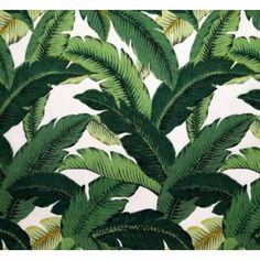 Martinique Banana Leaf Wallpaper Art Deco Wallpaper