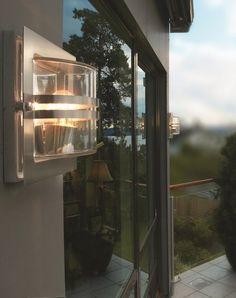 Bern Wall Light Galvanized by Norlys @peterreidlighting #outdoorwalllight