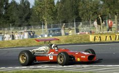 Chris Amon, Ferrari 312-68, 1968 Mexico Grand Prix, Mexico City