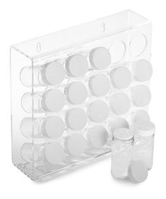 Look at this #zulilyfind! Illusions 20-Bottle Spice Rack Set by Prodyne #zulilyfinds