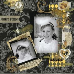 Chattering Robins how to scrapbook layout