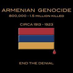Armenian Genocide. T-shirt by Samuel Sheats on Redbubble. #holocaust #genocide #activism #armenia