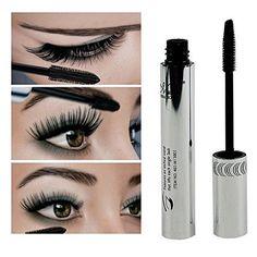 MF Cosmetic Eye Mascara Makeup Long Eyelash Silicone Brush Curving Lengthening Colossal Mascara