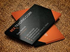Trading Company Business Card by Four C Graphic on @creativemarket