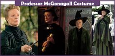 The best guide on making a Professor McGonagall costume from Harry Potter. Here you will find a list of everything you will need to make an accurate costume.