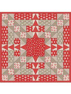 Criss-Cross Celebration Quilt Pattern