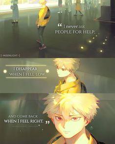 My Hero Academia, Boku Academia, Sad Anime Quotes, Manga Quotes, Bakugou Manga, Anime Life, Anime Characters, Fictional Characters, Anime Figures
