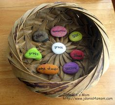 True Meaning of Easter Rocks based on the Jelly Bean Prayer